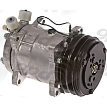 6511550 A/C Compressor Sold individually With clutch, 2-Groove Pulley