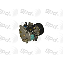 6511559 A/C Compressor Sold individually With clutch, 4-Groove Pulley