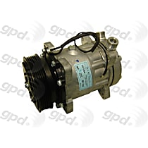 6511560 A/C Compressor Sold individually With clutch, 6-Groove Pulley
