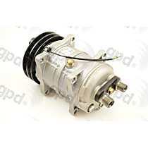6511568 A/C Compressor Sold individually With clutch, 2-Groove Pulley