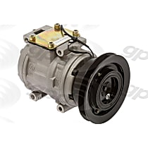 6511595 A/C Compressor Sold individually With clutch, 1-Groove Pulley