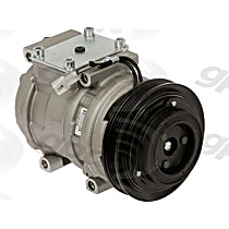 6511599 A/C Compressor Sold individually with Clutch, 4-Groove Pulley