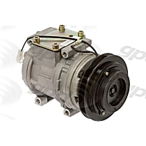 6511600 A/C Compressor Sold individually With clutch, 1-Groove Pulley