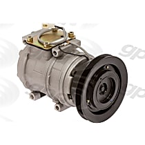 6511603 A/C Compressor Sold individually With clutch, 1-Groove Pulley