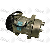 6511609 A/C Compressor Sold individually With clutch, 6-Groove Pulley