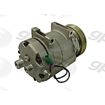 6511618 A/C Compressor Sold individually With clutch, 6-Groove Pulley