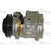 6511621 A/C Compressor Sold individually With clutch, 1-Groove Pulley