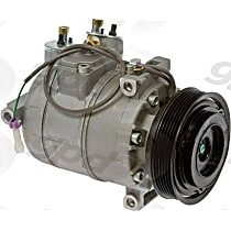 6511622 A/C Compressor Sold individually With clutch, 6-Groove Pulley