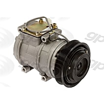 6511627 A/C Compressor Sold individually With clutch, 6-Groove Pulley