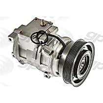 6511629 A/C Compressor Sold individually With clutch, 6-Groove Pulley
