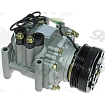 6511637 A/C Compressor Sold individually With clutch, 4-Groove Pulley