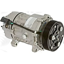 6511641 A/C Compressor Sold individually With clutch, 7-Groove Pulley