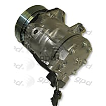 6511644 A/C Compressor Sold individually With clutch, 6-Groove Pulley