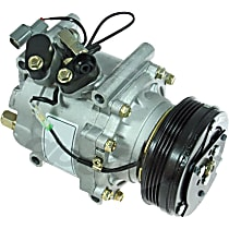 6511646 A/C Compressor Sold individually With clutch, 4-Groove Pulley