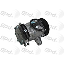 6511649 A/C Compressor Sold individually With clutch, 6-Groove Pulley