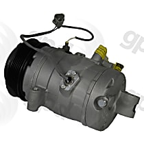 6511656 A/C Compressor Sold individually With clutch, 6-Groove Pulley