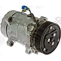 6511666 A/C Compressor Sold individually With clutch, 7-Groove Pulley