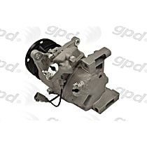 6511680 A/C Compressor Sold individually With clutch, 6-Groove Pulley