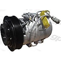 6511685 A/C Compressor Sold individually With clutch, 6-Groove Pulley