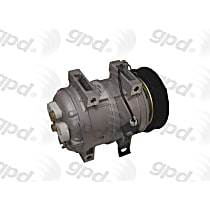 6511688 A/C Compressor Sold individually With clutch, 6-Groove Pulley