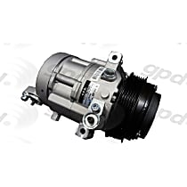 6511691 A/C Compressor Sold individually With clutch, 6-Groove Pulley