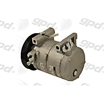 6511692 A/C Compressor Sold individually with Clutch, 4-Groove Pulley