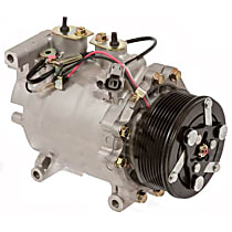 6511693 A/C Compressor Sold individually With clutch, 7-Groove Pulley
