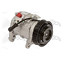 6511694 A/C Compressor Sold individually With clutch, 7-Groove Pulley