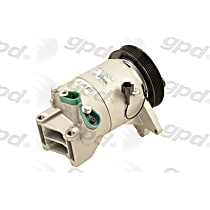 6511696 A/C Compressor Sold individually With clutch, 6-Groove Pulley