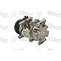 6511699 A/C Compressor Sold individually With clutch, 5-Groove Pulley