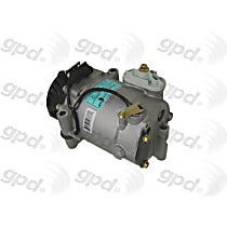 6511700 A/C Compressor Sold individually With clutch, 6-Groove Pulley