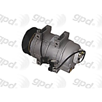 6511717 A/C Compressor Sold individually With clutch, 6-Groove Pulley