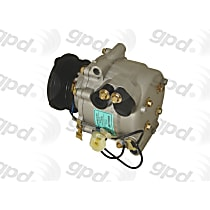 6511788 A/C Compressor Sold individually With clutch, 7-Groove Pulley