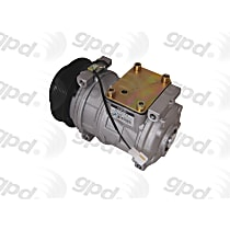 6511818 A/C Compressor Sold individually With clutch, 6-Groove Pulley