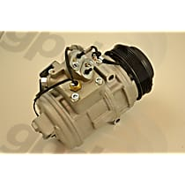 6511824 A/C Compressor Sold individually With clutch, 6-Groove Pulley