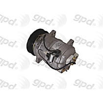 6511862 A/C Compressor Sold individually with Clutch, 6-Groove Pulley