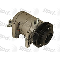 6511887 A/C Compressor Sold individually with Clutch, 4-Groove Pulley