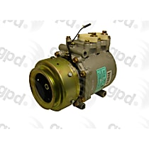 6511930 A/C Compressor Sold individually With clutch, 1-Groove Pulley