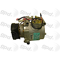 6511962 A/C Compressor Sold individually With clutch, 6-Groove Pulley