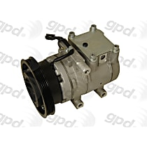 6511972 A/C Compressor Sold individually With clutch, 4-Groove Pulley