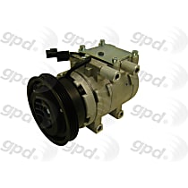 6511975 A/C Compressor Sold individually With clutch, 4-Groove Pulley