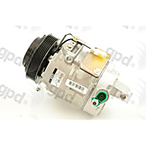 6512007 A/C Compressor Sold individually With clutch, 6-Groove Pulley