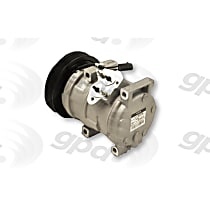 6512102 A/C Compressor Sold individually With clutch, 6-Groove Pulley