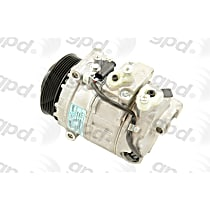 6512104 A/C Compressor Sold individually With clutch, 6-Groove Pulley