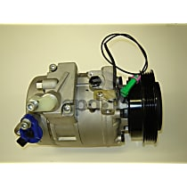 6512107 A/C Compressor Sold individually With clutch, 4-Groove Pulley