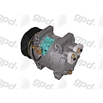 6512143 A/C Compressor Sold individually With clutch, 6-Groove Pulley