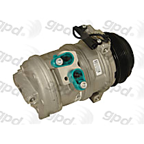 6512149 A/C Compressor Sold individually With clutch, 5-Groove Pulley