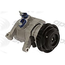 6512150 A/C Compressor Sold individually With clutch, 6-Groove Pulley