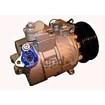 6512182 A/C Compressor Sold individually With clutch, 6-Groove Pulley