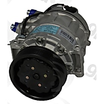 6512184 A/C Compressor Sold individually With clutch, 7-Groove Pulley